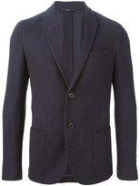 Fendi knitted blazer - men - Silk/Polyamide/Acetate/Wool - 46