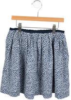 Jacadi Girls' Floral Print A-Line Skirt
