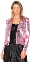 ALYSON EASTMAN Gem Leather Jacket