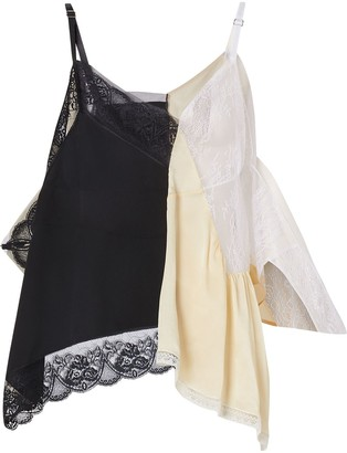Burberry Lace Trim Reconstructed Camisole