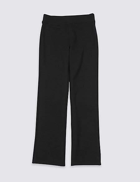 Marks and Spencer Girls' Regular Leg knitted Trousers