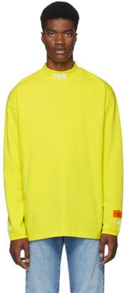 Heron Preston Yellow Style Turtleneck
