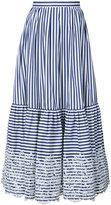 Erdem - 'Leigh' striped skirt -