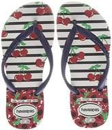 Havaianas Girls' Slim Fashion Flip Flops