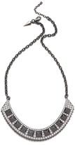 Rebecca minkoff Flipped Crystal Bib Necklace