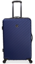 "Revo CLOSEOUT! Stripes 25"" Expandable Spinner Suitcase"