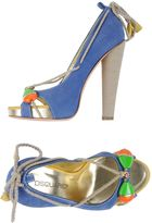 DSQUARED2 Pumps with open toe