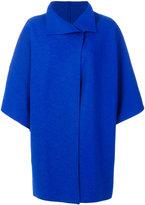 Harris Wharf London oversized cape coat