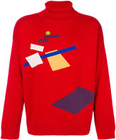 Gosha Rubchinskiy graphic knit jumper