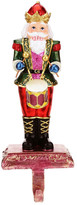 "Mark Roberts Red 11"" Nutcracker Stocking Holder"