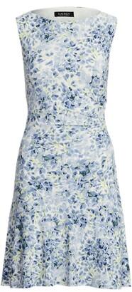 Lauren Ralph Lauren Ralph Lauren Floral Sleeveless Jersey Dress
