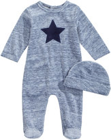 First Impressions 2-Pc. Hat & Star Footed Coverall Set, Baby Boys (0-24 months), Created for Macy's