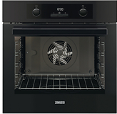 Zanussi ZOA35972BK Built-in Single Electric Oven, Black