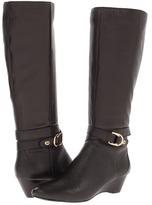 Bandolino AroundMe (Dark Brown Leather) Women's Boots