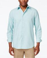 Tasso Elba Men's Silk Blend Print Long-Sleeve Shirt, Only at Macy's