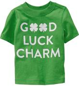 """Old Navy """"Good Luck Charm"""" Tees for Baby"""