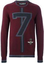 Dolce & Gabbana '7' jumper
