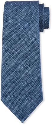 Emporio Armani Wrinkle Printed Tie