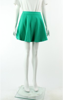Alexander McQueen Green Skirt for Women