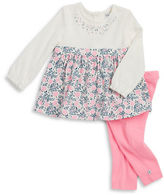 Absorba Floral Tunic and Leggings Set
