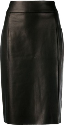Drome Front Slit Pencil Skirt