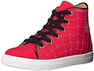 Charlotte Olympia Girls' Incy Web High-Tops (Toddler/Little Kid) 27 (US 10 M