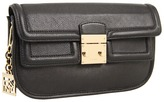 DKNY - Vintage Leather Clutch with Chain Handle