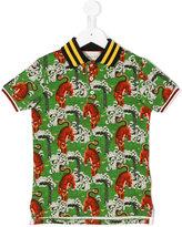 Gucci Kids tiger polo shirt