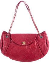 Chanel Iridescent Calfskin Accordion Flap Bag