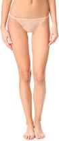 Calvin Klein Underwear Sheer Marq String Bikini