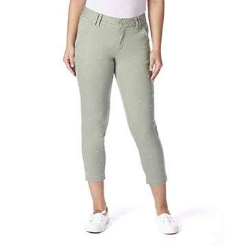 Jag Jeans Women's Flora Chino Crop