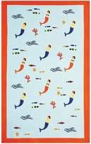 Olivier Desforges Sirenes beach towel
