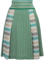 Missoni pleated skirt - women - Cotton/Polyester/Viscose - 42