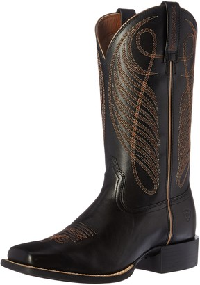 Ariat Women's Round Up Wide Square Toe Western Cowboy Boot