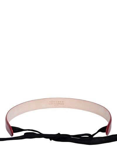 Maison Martin Margiela High Waisted Leather Belt