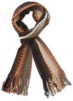 Missoni Fringed Wool Long Scarf