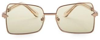 Karen Walker Wisdom 56MM Square Sunglasses