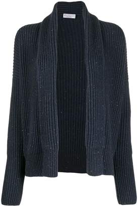 Brunello Cucinelli speckled knit cardigan