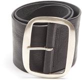 Isabel Marant Wide leather waist belt