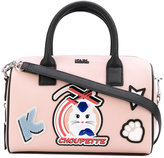 Karl Lagerfeld cat motif tote - women - Leather - One Size