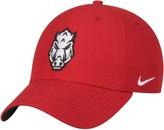 Nike Men's Cardinal Arkansas Razorbacks Heritage 86 Authentic Logo Performance Adjustable Hat