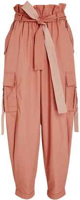 Ulla Johnson Willett Paperbag Cargo Trousers