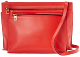 Loewe Double Large Leather Shoulder Bag