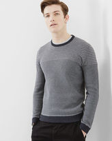 Ted Baker Striped crew neck sweater