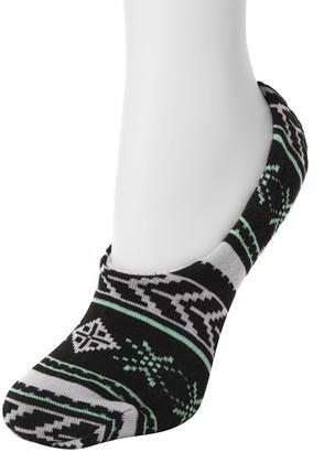 Muk Luks Women's Ballerina Slipper Socks