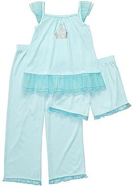 Carter's 3-pc. Princess Castle Pajamas - Girls 2t-5t
