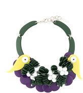P.A.R.O.S.H. novelty bird necklace