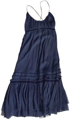 Barneys New York Black Silk Dress for Women