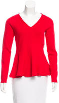 Kate Spade V-Neck Rib Knit Sweater