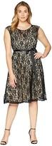 KARI LYN Plus Size Faith Lace Sleeveless Dress
